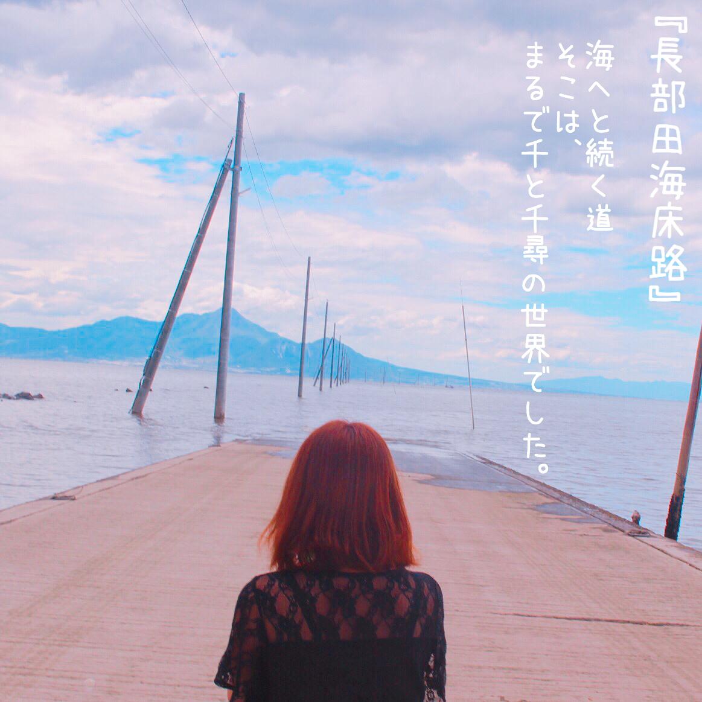 【長部田海床路】熊本で千と千尋の神隠し。TickTok