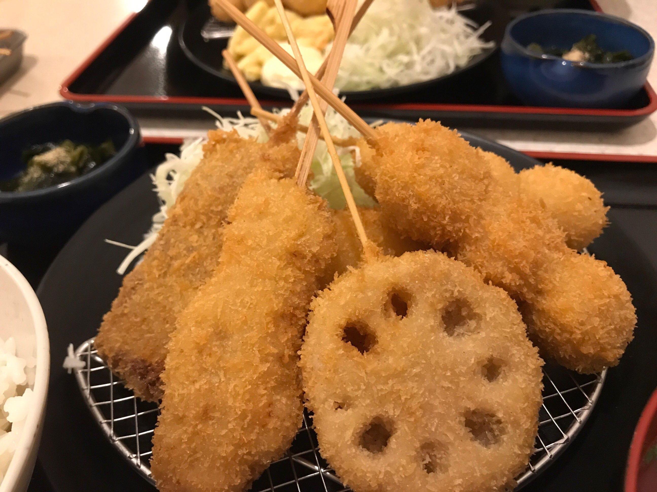 【串カツ田中】でランチ!大阪の味にハマった@メニュー