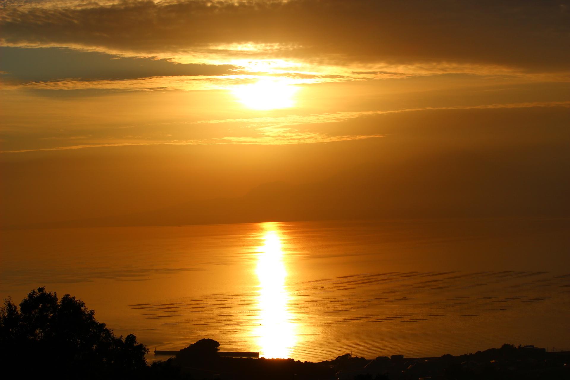 【ナルシストの丘】夕焼けがきれいな絶景スポット