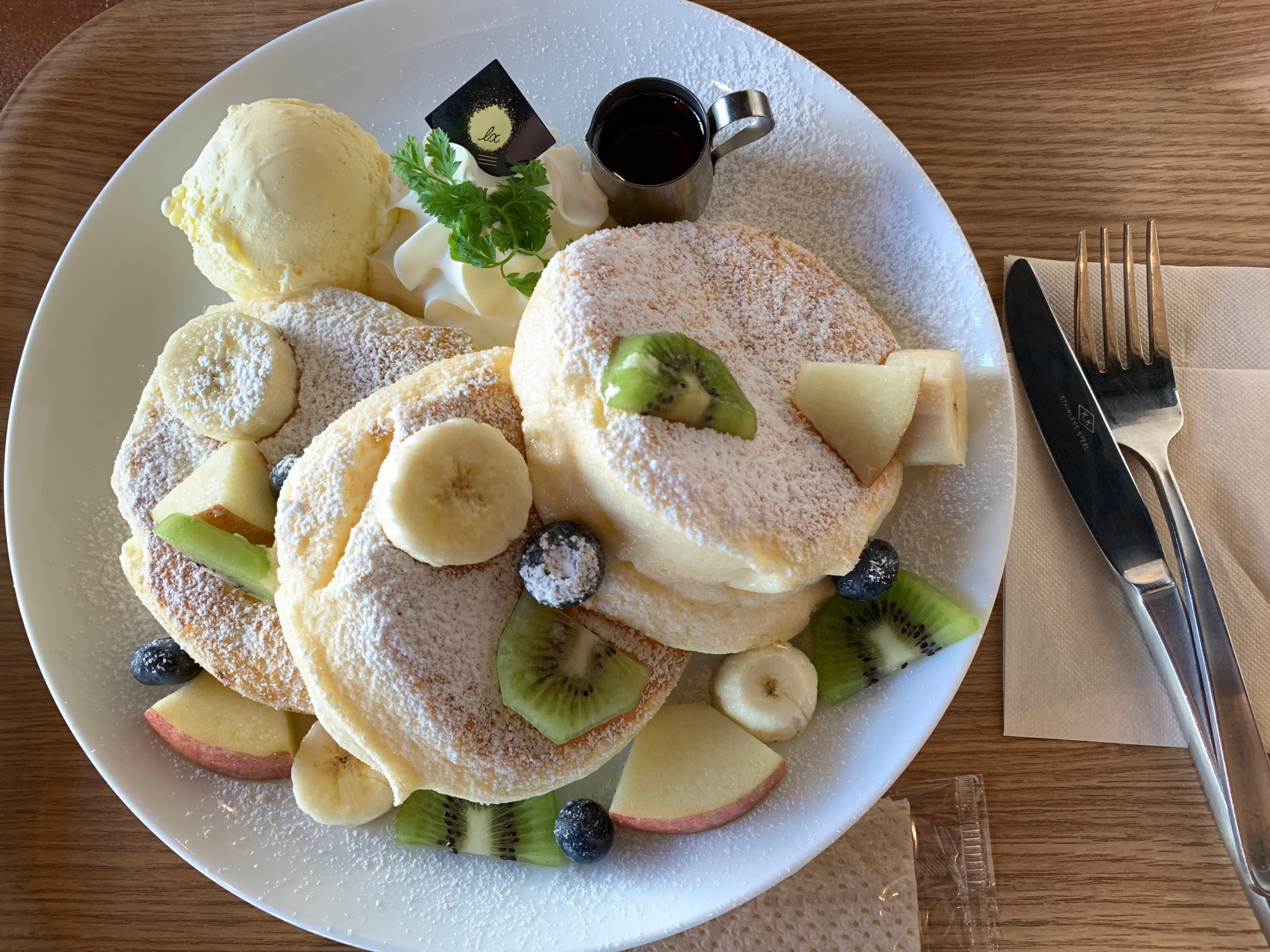 【カフェルクス熊本】浜線でランチ&メニュー@パンケーキが大人気!