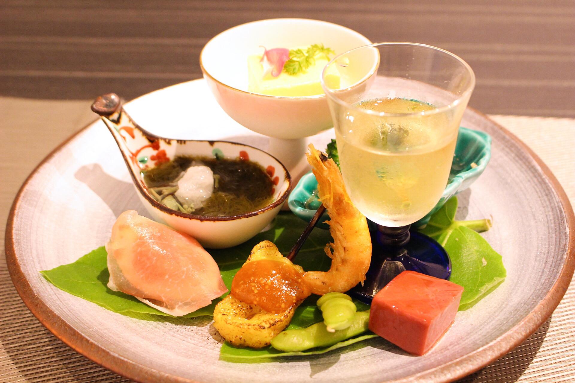 【はるか】熊本で食べる「かじゅある日本料理」は、目でも楽しめる