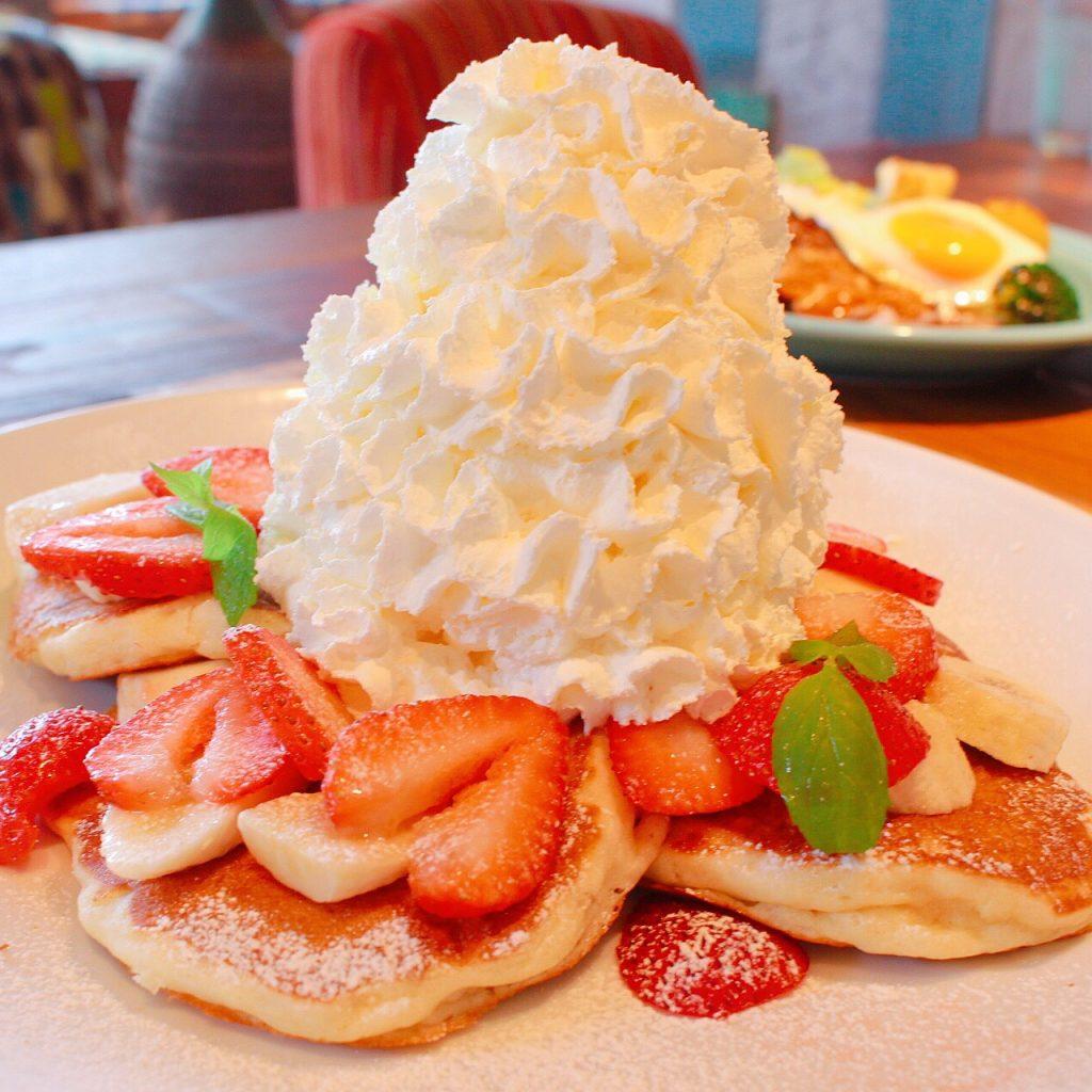 コナズ珈琲パンケーキ