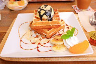 【チロアウト】益城のカフェ!サンドとワッフルの美味しい店