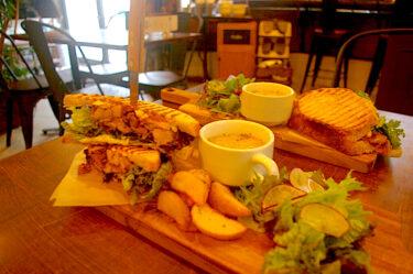 【おるがんと商店】水俣のおしゃれカフェ。天然酵母パンのサンドイッチと本格コーヒーを堪能!