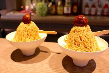 【ヒノマル&リブカフェ】熊本でモンブラン@しぼりたてが食べられちゃう!