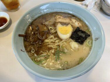 【あづまラーメン】東区御領のメニュー!本当に「熊本ラーメン」を味わいたい時にオススメ!