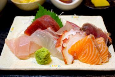 【魚良(うおよし)】田崎市場でランチ!新鮮で美味しい刺身が食べられちゃう店